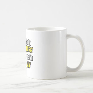 Everyday's An Adventure .. Optician Basic White Mug