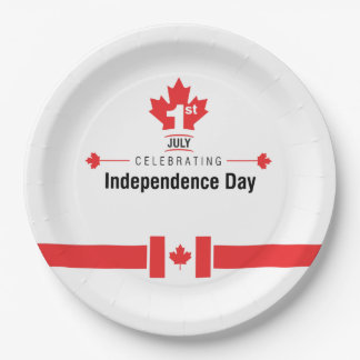 Everyone Celebrates Canada Day Party Paper Plates