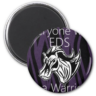 Everyone is a warrior png magnet