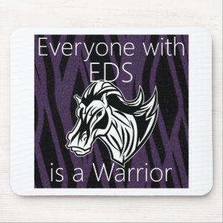 Everyone is a warrior.png mouse pads