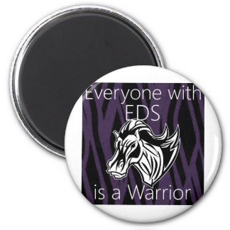 Everyone is a warrior png refrigerator magnet
