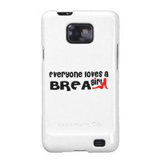 Everyone loves a Brea girl Galaxy S2 Case