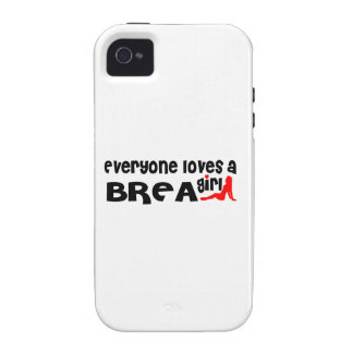 Everyone loves a Brea girl iPhone 4/4S Cases