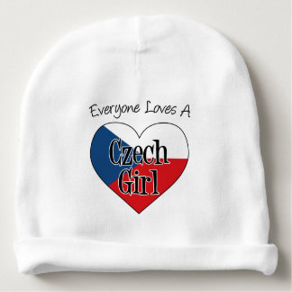 Everyone Loves A Czech Girl Cute Czech Baby Hat Baby Beanie