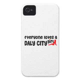 Everyone loves a Daly City girl iPhone 4 Case