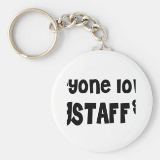 Everyone loves a Flagstaff girl Basic Round Button Key Ring