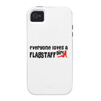 Everyone loves a Flagstaff girl iPhone 4/4S Cover