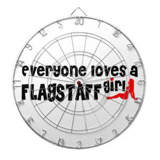 Everyone loves a Flagstaff girl Dartboard