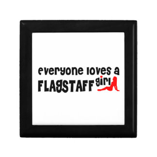 Everyone loves a Flagstaff girl Small Square Gift Box