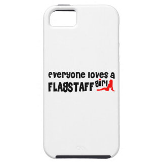 Everyone loves a Flagstaff girl iPhone 5 Cover