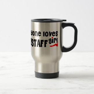 Everyone loves a Flagstaff girl Stainless Steel Travel Mug