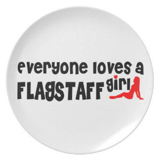 Everyone loves a Flagstaff girl Plates
