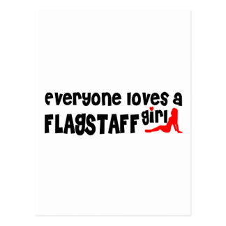 Everyone loves a Flagstaff girl Postcard