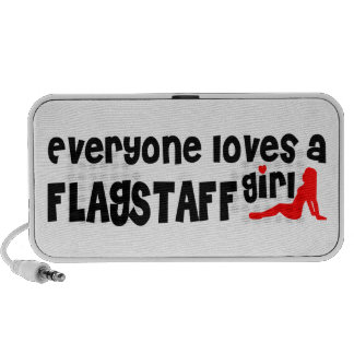 Everyone loves a Flagstaff girl iPod Speakers