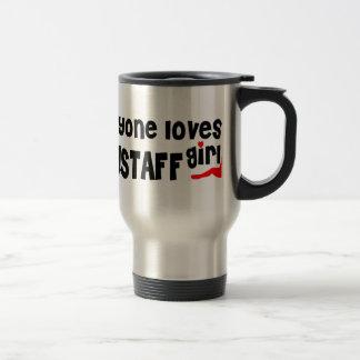 Everyone loves a Flagstaff girl Stainless Steel Travel Mug