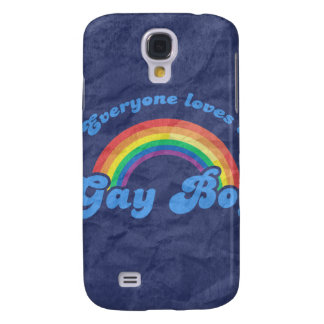 EVERYONE LOVES A GAY BOY GALAXY S4 CASE