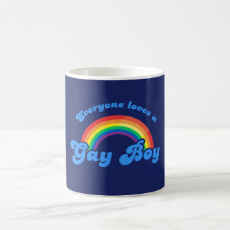 EVERYONE LOVES A GAY BOY - .png Coffee Mug