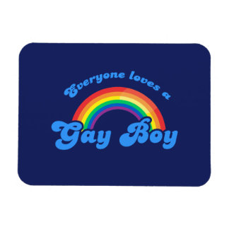 EVERYONE LOVES A GAY BOY - .png Magnets