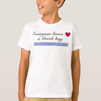 Everyone loves a greek boy T-Shirt