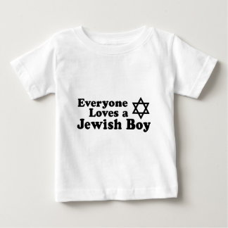 Everyone Loves a Jewish Boy Baby T-Shirt