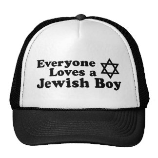 Everyone Loves a Jewish Boy Cap
