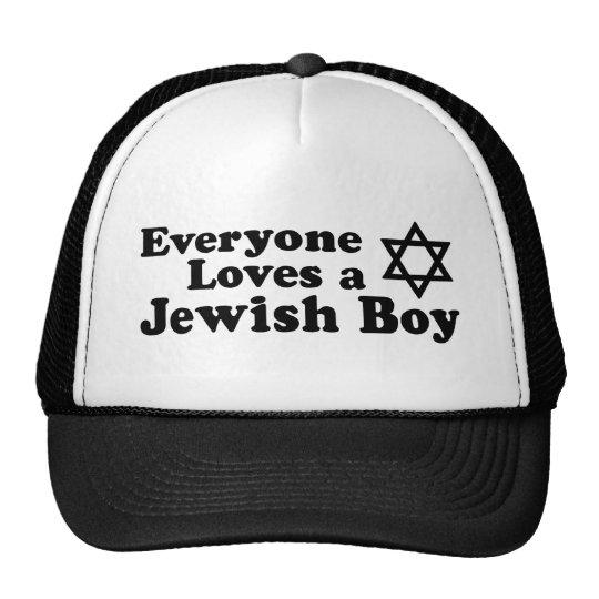 Everyone Loves a Jewish Boy Cap