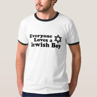Everyone Loves a Jewish Boy T-Shirt