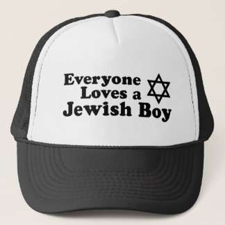 Everyone Loves a Jewish Boy Trucker Hat