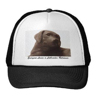Everyone Loves a Labrador Retriever Cap