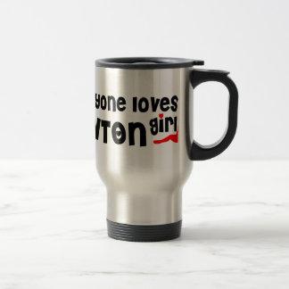 Everyone loves a Lawton girl Stainless Steel Travel Mug