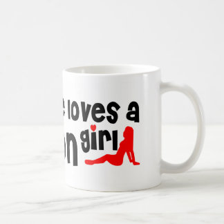 Everyone loves a Lawton girl Basic White Mug