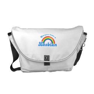 Everyone loves a Lesbian Messenger Bag