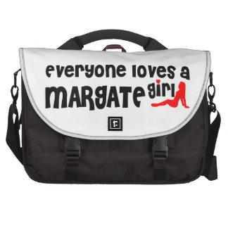 Everyone loves a Margate girl Laptop Commuter Bag
