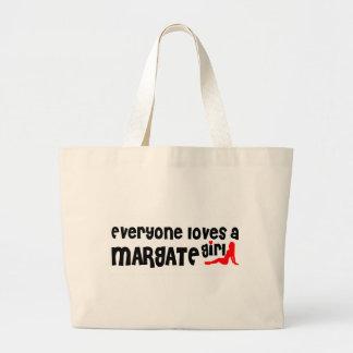 Everyone loves a Margate girl Jumbo Tote Bag