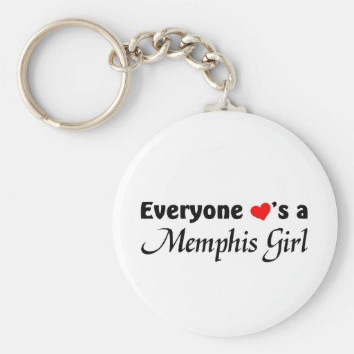 Everyone loves a Memphis Girl Key Chains