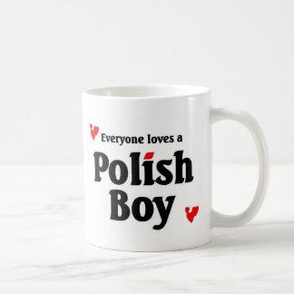 Everyone loves a polish boy coffee mug