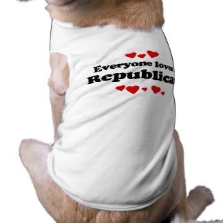 Everyone loves a Republican Pet Clothing
