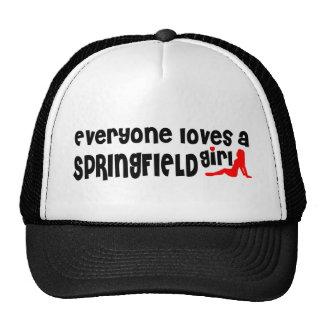 Everyone loves a Springfield girl Cap