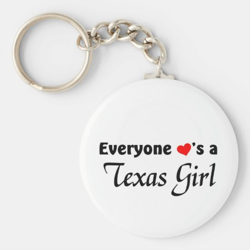 Everyone loves a Texas Girl Key Chain