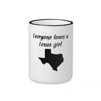 Everyone Loves A Texas Girl Mug