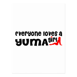 Everyone loves a Yuma girl Postcard