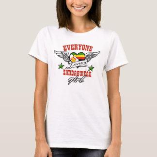 Everyone loves a Zimbabwean girl T-Shirt