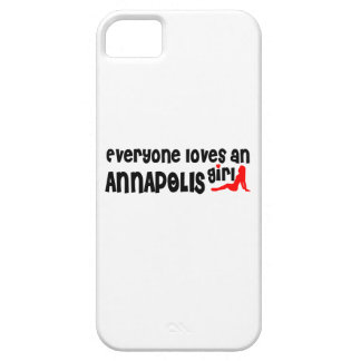 Everyone loves an Annapolis girl iPhone 5 Case