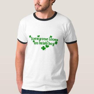 Everyone loves an Irish boy Tee Shirt