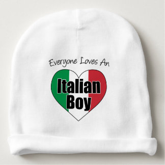 Everyone Loves An Italian Boy Baby Hat Baby Beanie