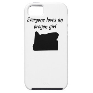 Everyone Loves An Oregon Girl iPhone 5 Cover