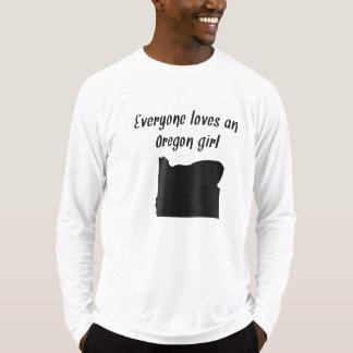 Everyone Loves An Oregon Girl Tee Shirts