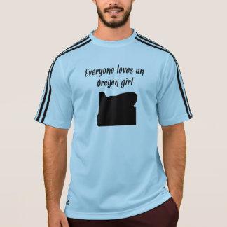 Everyone Loves An Oregon Girl T Shirt