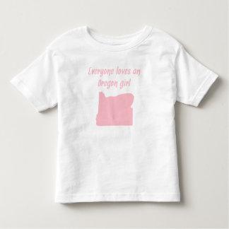 Everyone Loves An Oregon Girl Tshirt