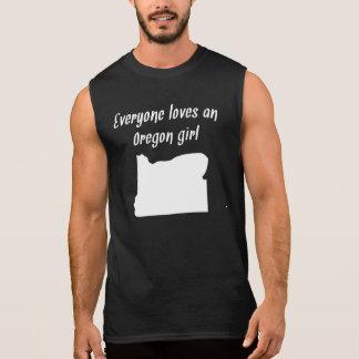 Everyone Loves An Oregon Girl Sleeveless T-shirt